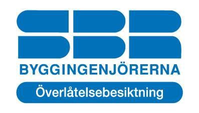 SBR-godkänd besiktningsman för endreprenadsbesiktning